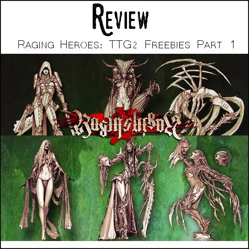 raging heroes freebies